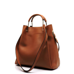 Camel satchel with two straps